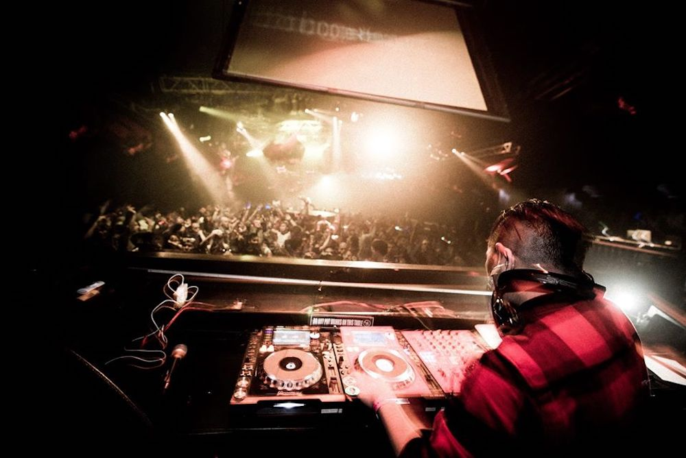 A DJ in Japan rocks the floor with a killer set