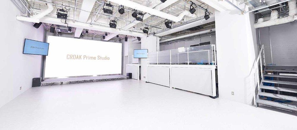 CROAK Prime Studio is one of Japan's top livestreaming studios