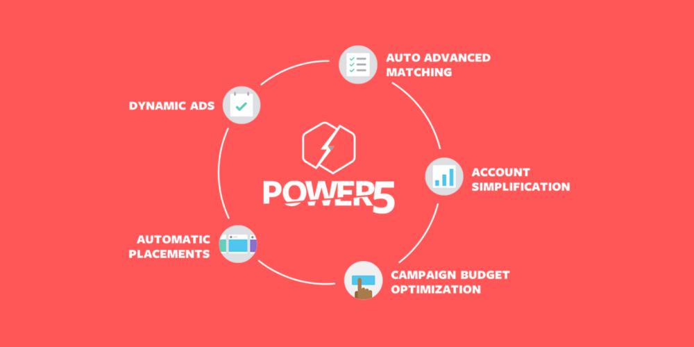 Facebook ads' Power Five
