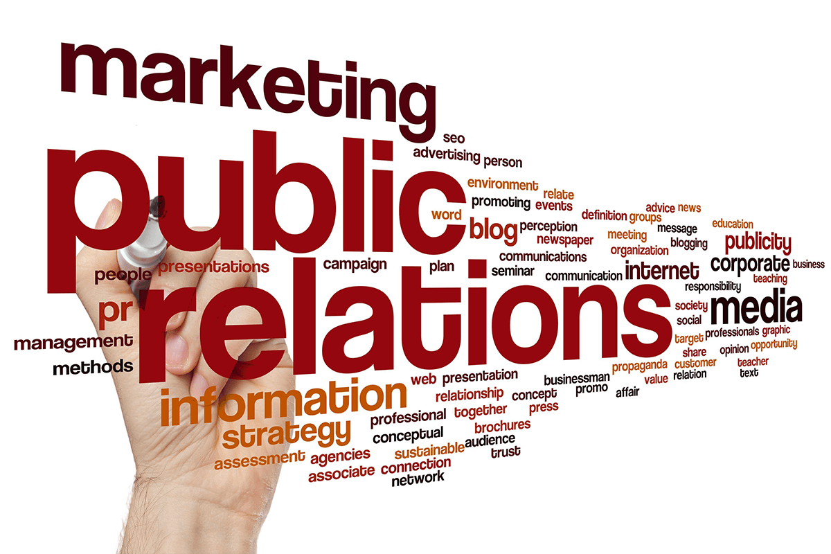 Words that describe what public relations consists of