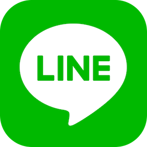 The logo for the social media app LINE, a platform that is commonly used by any PR agency in Japan