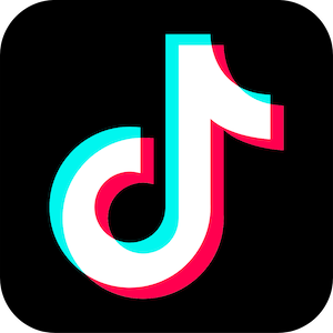 The logo for the social media app TikTok, a platform that is commonly used by any PR agency in Japan