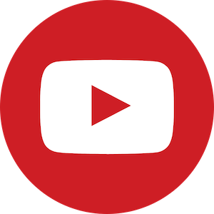 The logo for the social media app YouTube, a platform that is commonly used by any PR agency in Japan